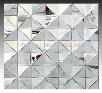 çağdaş Stil Kare Dekoratif çok Yönlü Duvar Dekor Otel Salon 3d