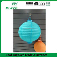 ML-2553 Chinese wholesale moroccan cheap paper candle lantern