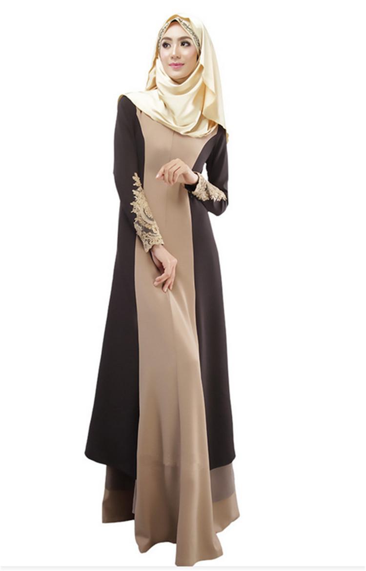Good Quality New Models Muslim Hijab Abaya Dress Designs Latest Women Dubai Black
