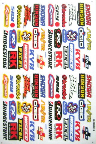 Motorcycle Decal Kit Motorcycle Decal Kit Suppliers And - Bridgestone custom stickers motorcycle