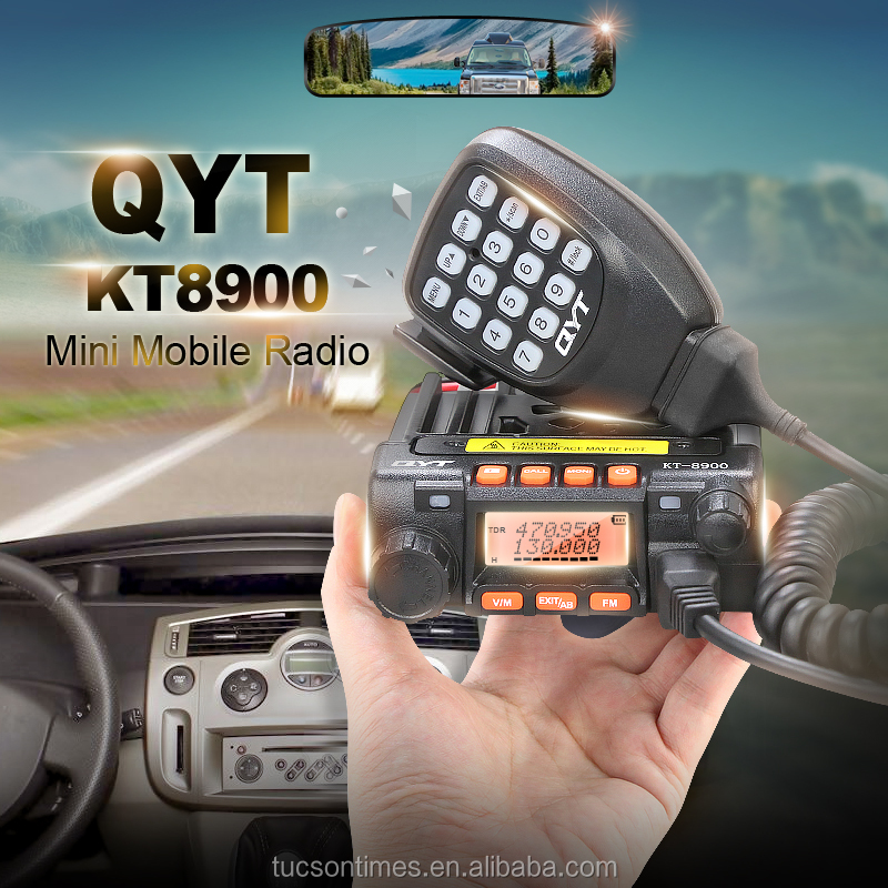 136-174/400-480MHz Dual Band Mini Mobile Radio Transceiver qyt kt-8900