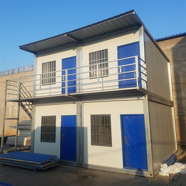 Steel Structure Container Living House Prefab Office Building Mobile Container House