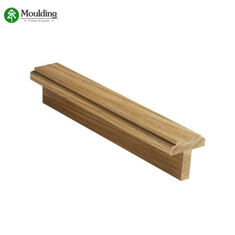 Different style wood rabbet main door frame jamb
