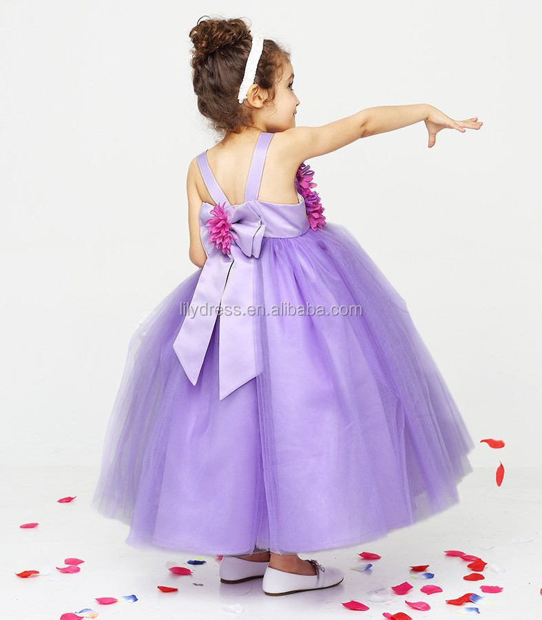 6dda6da38c A-Line Top Tank Back Bow Wholesale Customized Flower Girl Dress Vestidos  FGZ38 One Piece
