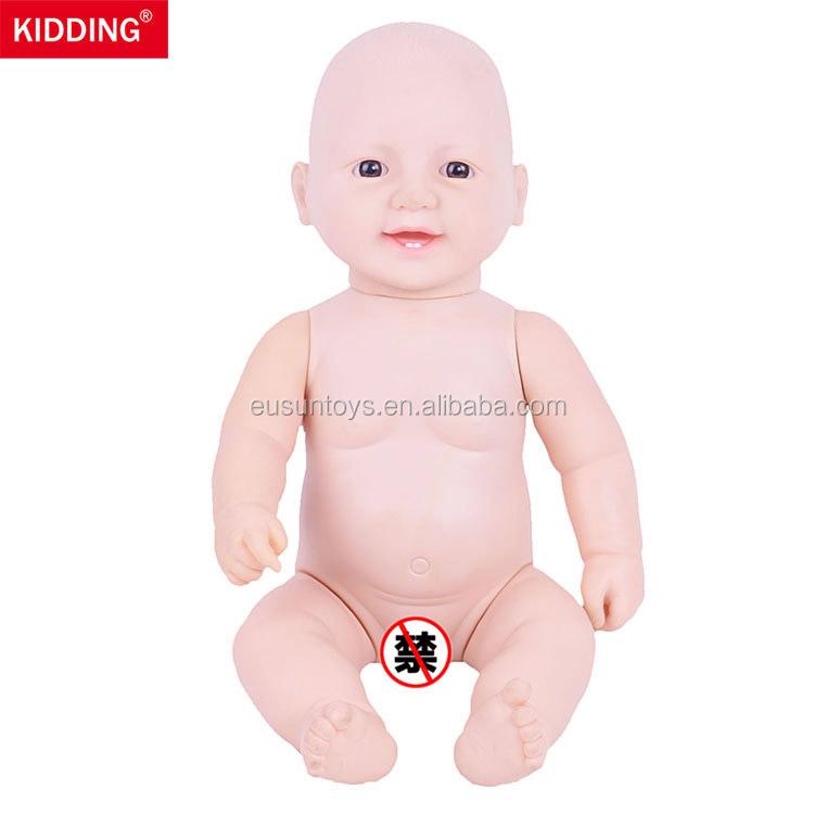 Girl toy Barbie doll Seascape Mermaid Naked baby doll body head doll kid gift 1#