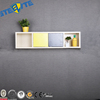 Best Selling Fashion Wall Mounted Metal Book Storage Display Shelf Cabinet Design