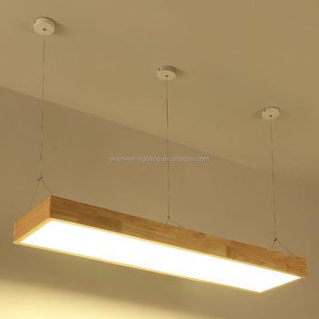 online retailer 20853 3a249 Custom New Design Modern Wood Pendant Light Rectangle Led Hanging Lamp -  Buy Lamp Design Wooden,Led Hanging Lamp,Modern Wood Pendant Light Product  on ...