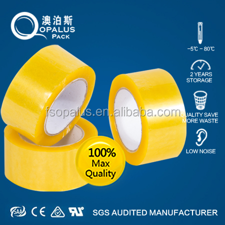 Water acrylic glue sealing packing tape maker from china factory