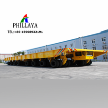 2018 NEW 100-600Tons Hydraulic Platform Trailer Self-Propelled Modular Transporter With Driving Cab