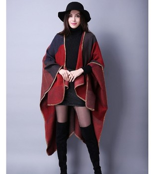 Fashion Long Shawl Winter Warm beautiful Large wool Scarf women with multipel designs