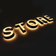 Cheap Acrylic LED Illuminated Signs Letter Storefront Light Lightbox Sign Price Storefront LED Lights