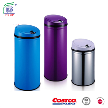 Automatic Sensor Kitchen Trash Can / Touchless Stainless Steel Trash Bin /  Smart Dustbin, View automatic sensor dustbin, Fucheng Product Details from  ...