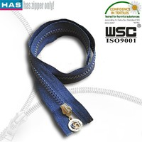 No harmful for children No.5 child proof zipper