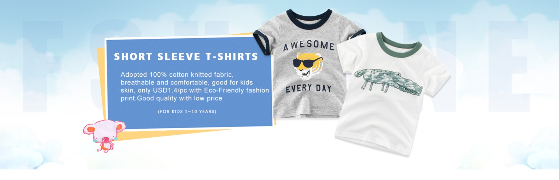 HBER 1-6T Baby Toddler Little Boys Kids Summer Outfit Short Sleeve Letters Print T-Shirt Tops