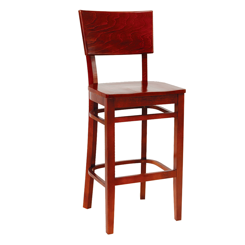 Reupholster Dining Room Chair: Solid Wood Wood Seat Restaurant Reupholster Dining Room