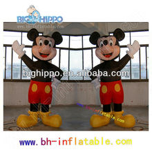 Mickey mouse de la historieta inflable