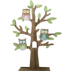 Easter Wooden owls family tree home decoration new family decorative gifts in easter or daily using