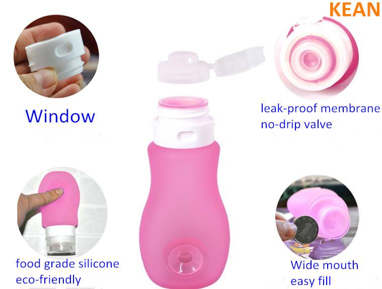 Empty Hand Sanitizer Bottle/china Wholesale Bpa Free Leak