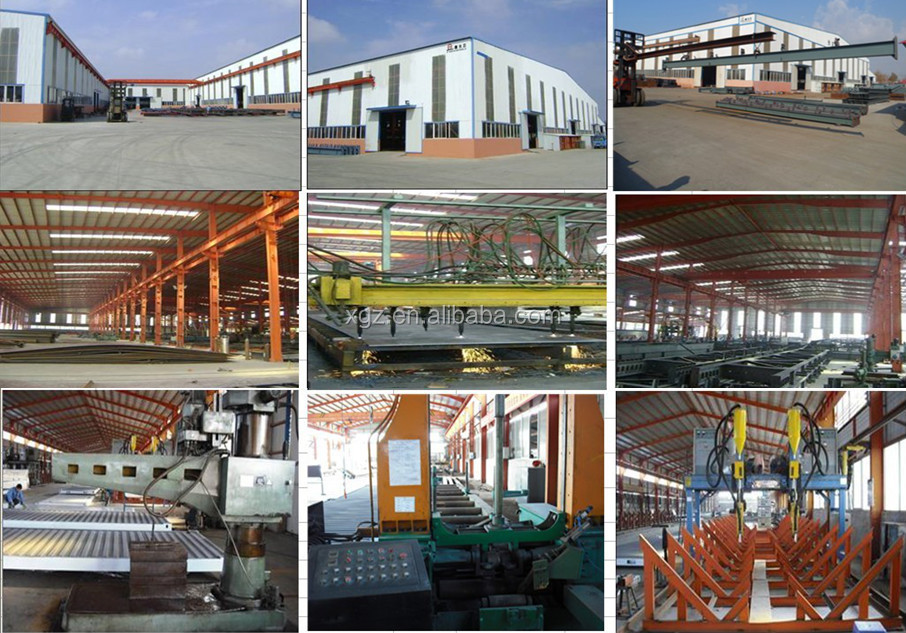 steel frame of warehouse /workshop/building/factory