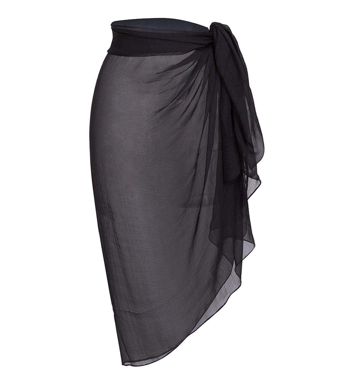 e47d342bc4459 Get Quotations · Sanchy Women's Plus Size Bathing Suit Cover up Beach Sarong