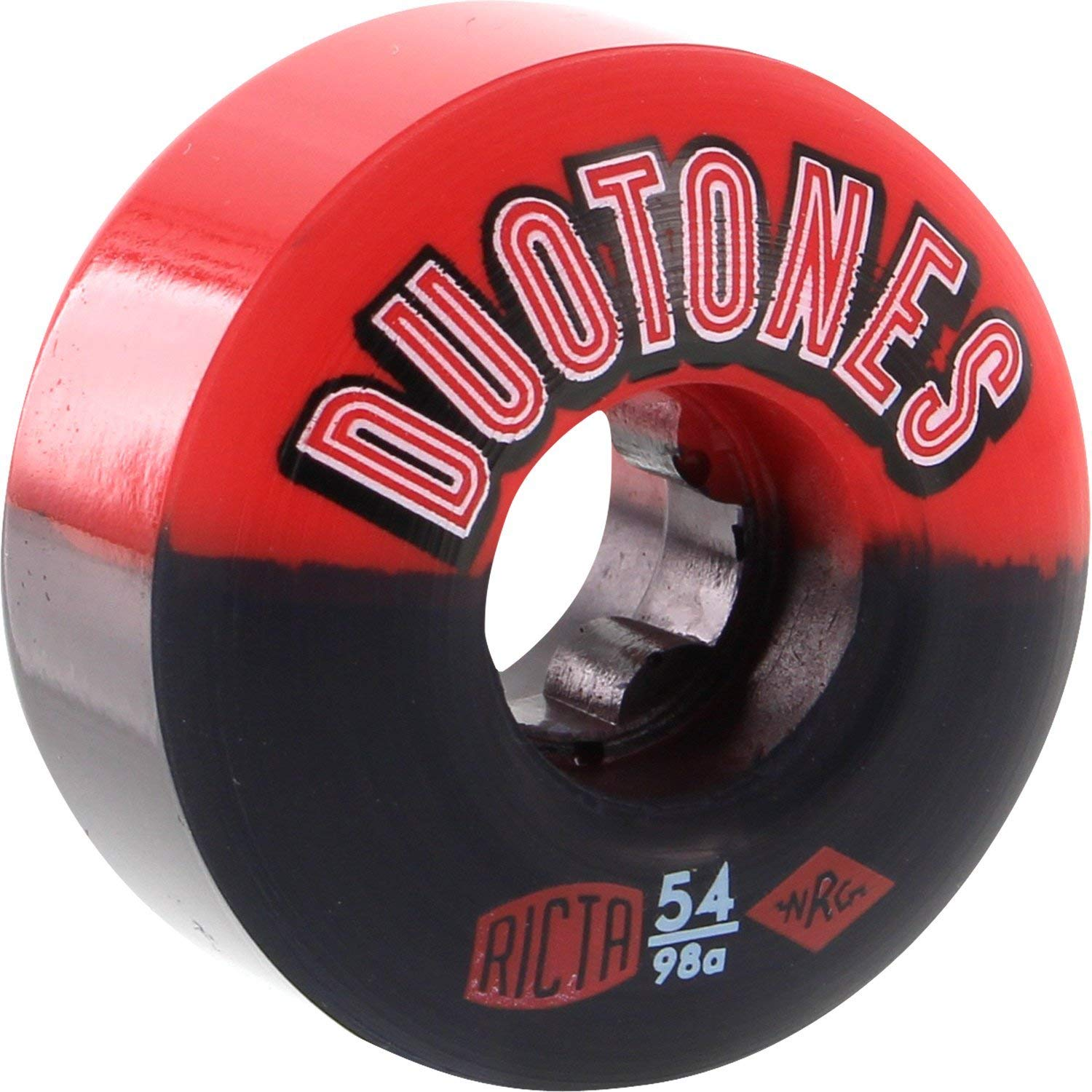 Independent Bearing Ricta Skateboard Wheels Duo Tones 54mm Electros 98a 4 Pack