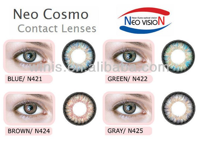 Neo Cosmetic Color Contact Lenses 4 Tone Color System N42