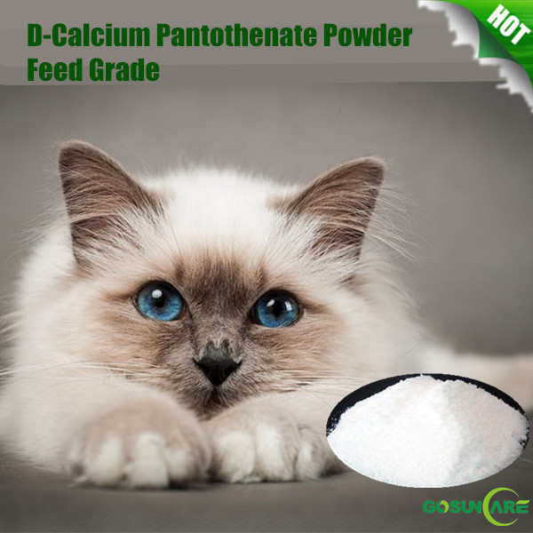 High Quality Feed Grade Vitamin B5/ D-Calcium Pantothenate Powder