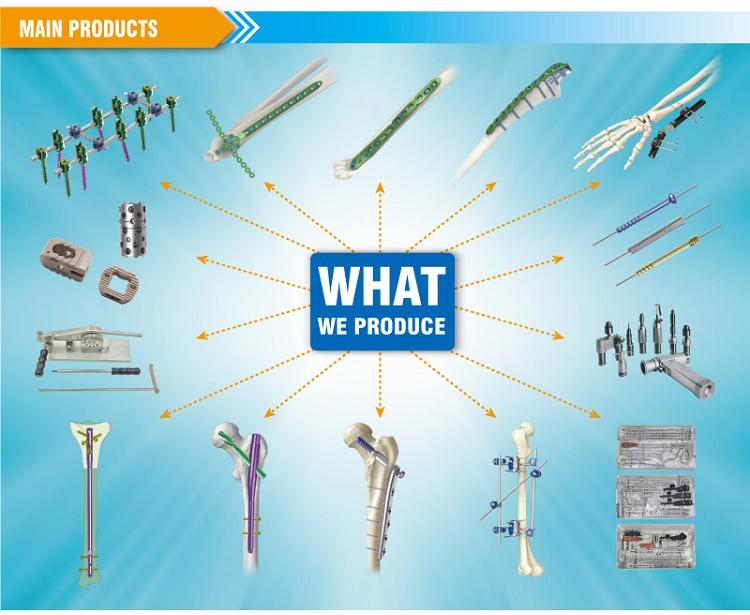 China Supplier Fracture Fix Trauma Orthopedic Device Metacarpus ...
