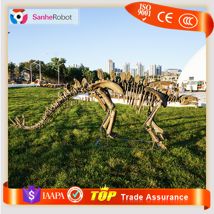 2017 Sanhe CUSTOMIZED Art Collectible Resin aaa replica Stegosaurus Life Size Dinosaur Skeleton/Fossils for Sale