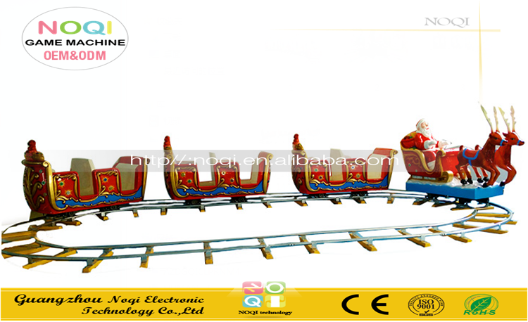 Nqk-e08 Electric Outdoor Christmas Trains For Sale Coin Operated ...