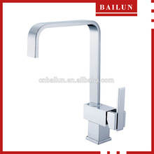 D-2008 single handle chrome brass commercial kitchen sink water tap