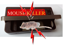 ELECTRONIC MOUSE KILLER mouse /rat trap