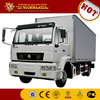 price of delivery truck HOWO brand small cargo trucks for sale 10t cargo truck dimensions