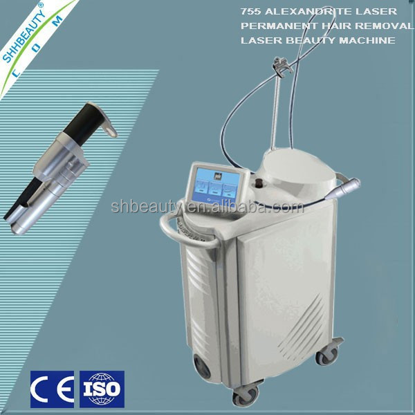 Fast & Permanent hair removal alexandrite laser beauty instrument