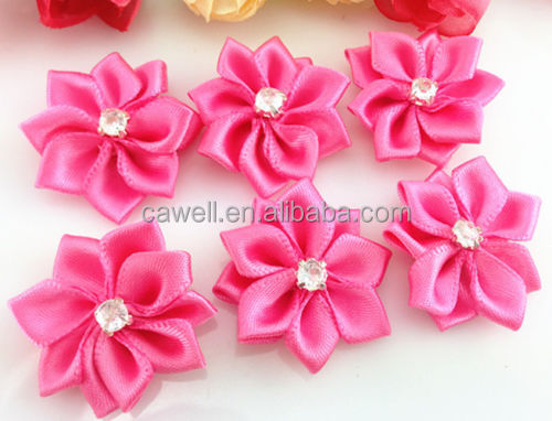 Adhesive Handmade Ribbon Flower