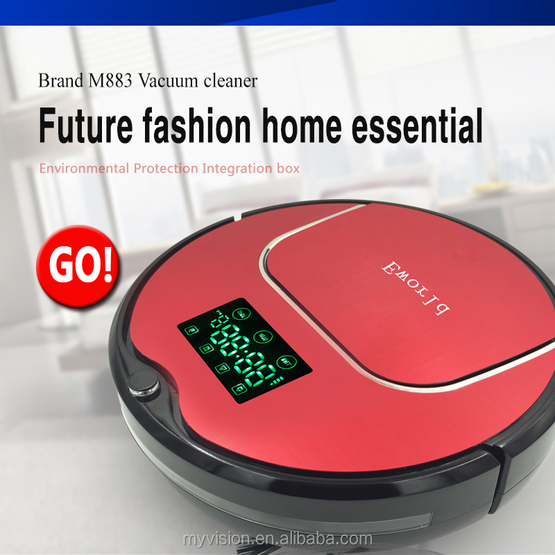 Electrical portable vacuum cleaner /Floor Sweeper robot hoover with good Cleaning brush