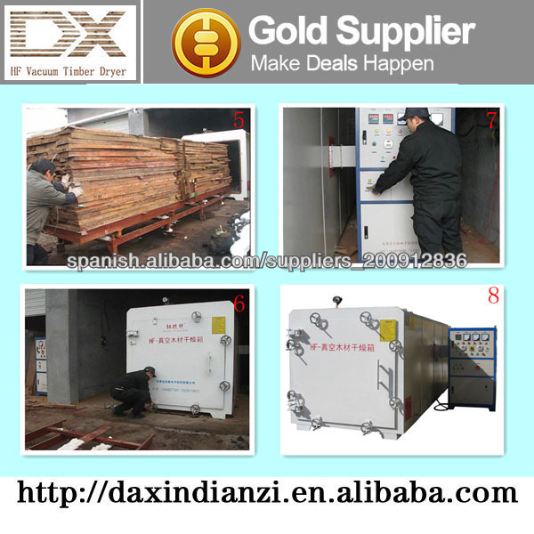 high frequency vacuum timber dehumidifier dryer for furniture