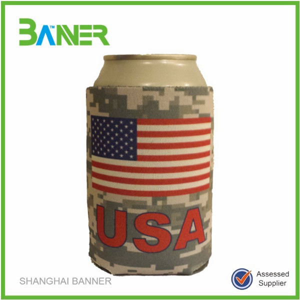 Promotional outdoor insulated one can cooler bag