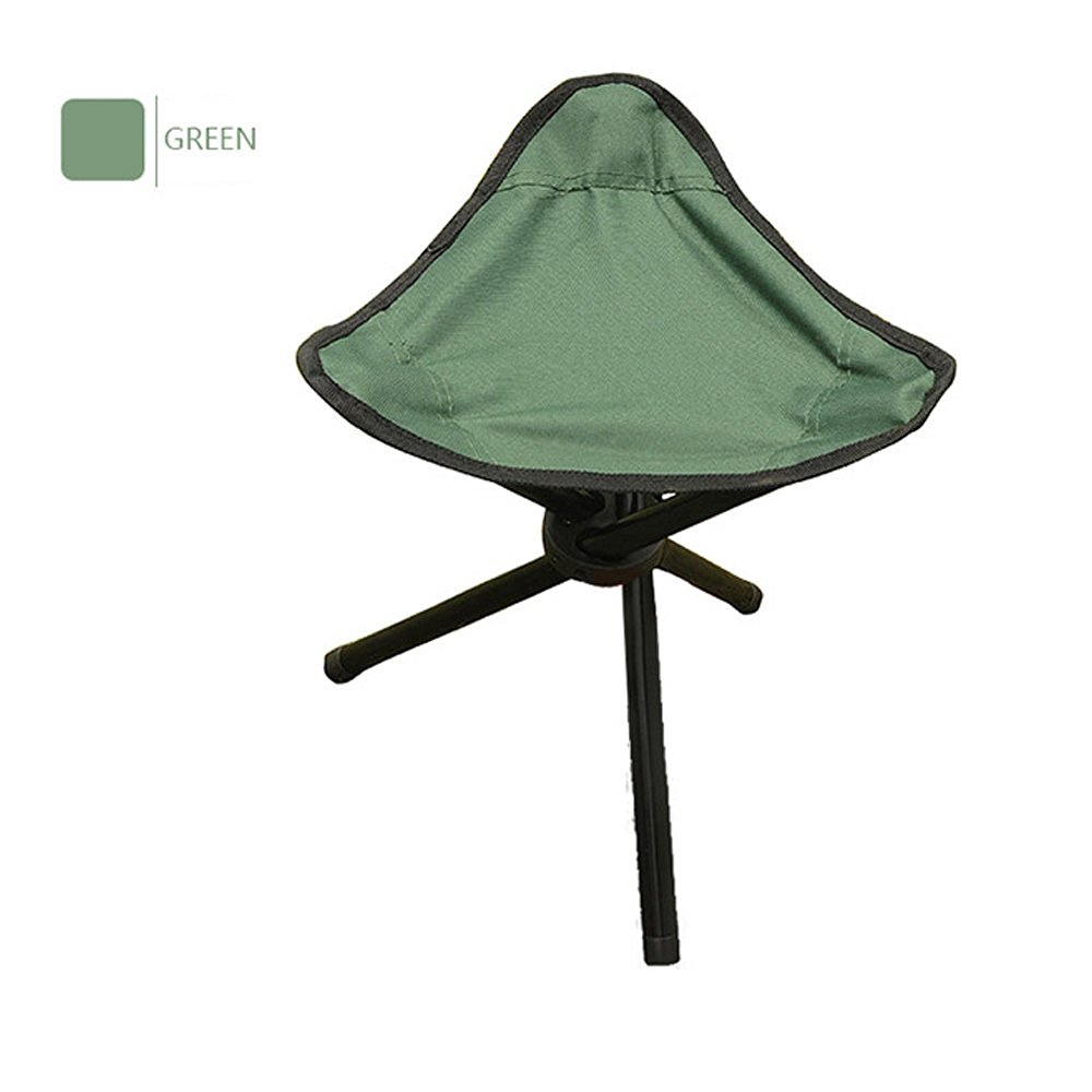 Get Quotations · Ezyoutdoor Foldable Stool For Fishing Outdoor Camping  Stools Portable Sturdy Folding Stools Chairs For Adults Teens