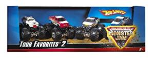 Hot Wheels Monster Jam Tour Favorites - Styles May Vary, Model: H9577, Toys & Play