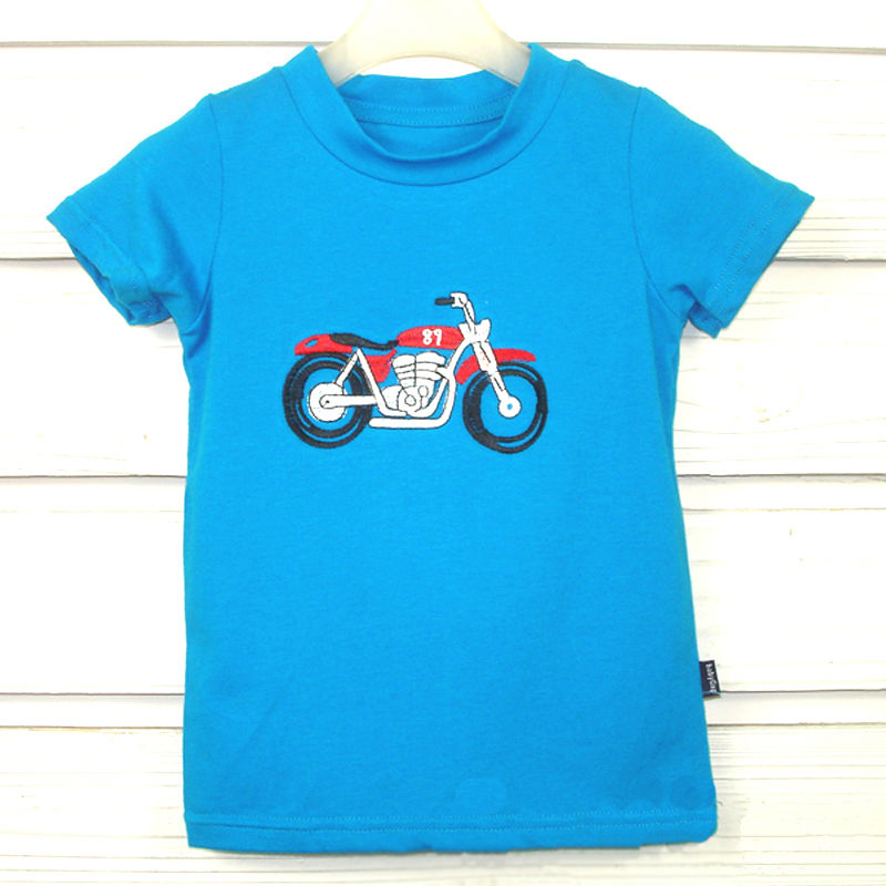 moto dessin enfant t shirt tee shirts d 39 enfants id de produit 500000416192. Black Bedroom Furniture Sets. Home Design Ideas