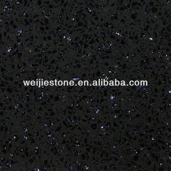 Dark Blue Diamond S Sparkle Quartz Stone Countertop