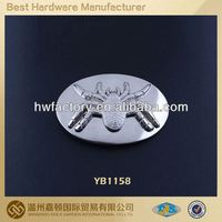 Metal custom design auto lock buckle belt,plated military buckle