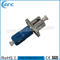LC Female SC Male fiber optic adapter with Ceramic sleeves