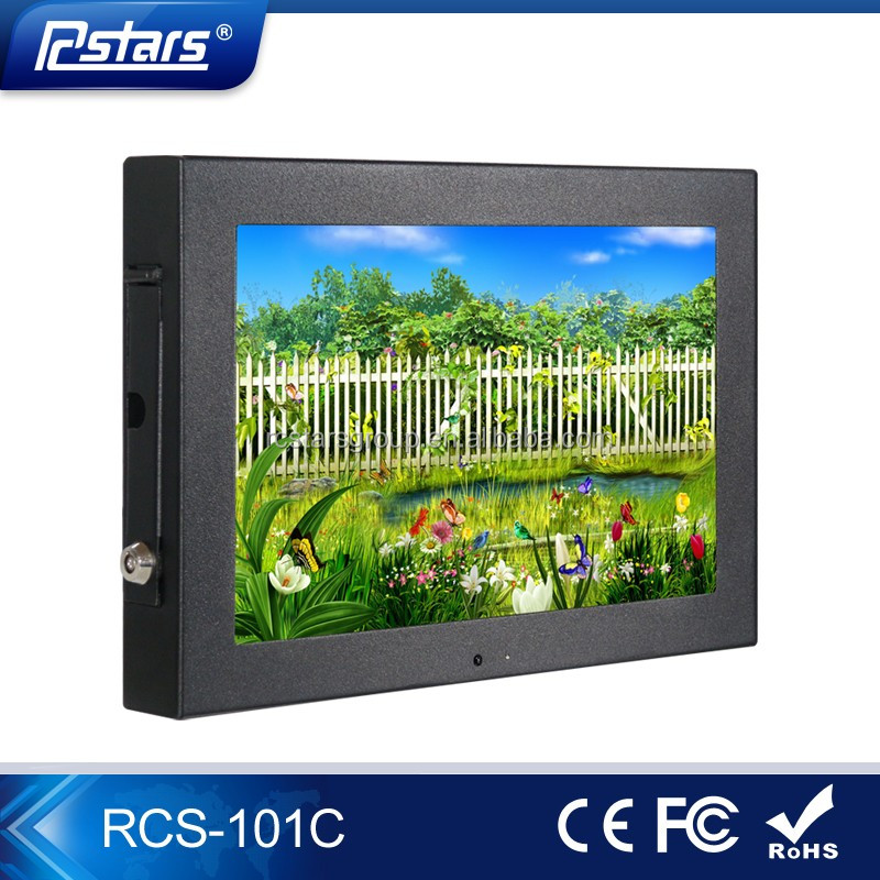 "10.1"" flexible TFT screen advertising digital signage video player LCD display"
