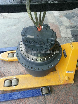 Zoomlion excavator travel motor ze260e hydraulic track for Hydraulic track drive motor