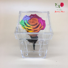 CHINA MADE factory price transparent clear acrylic flower box