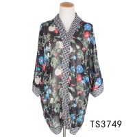 TOROS Popular Custom Chiffon Printed Fabric Dresses Chiffon Scarf Shawl