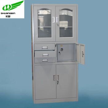 lockable safe 3 drawer office cupboard/metal 4 drawers filing