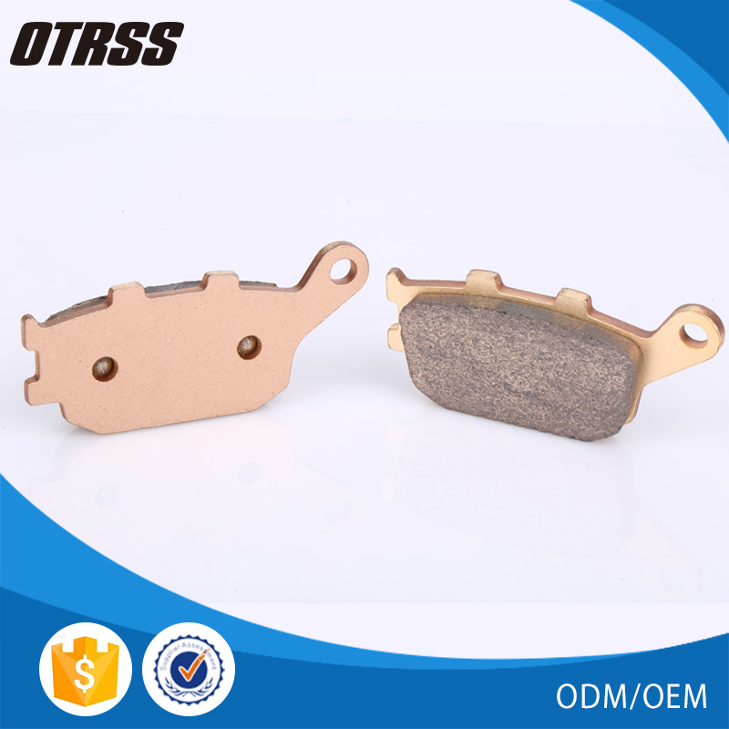 China manufacture supplied disc brass atv brake pad for yamaha